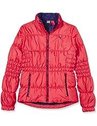 Puma Padded Jacket - Chaqueta para niñas, color rosa (cayenne), talla 164