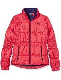 Puma Padded Jacket - Chaqueta para niñas, color rosa (cayenne), talla 176