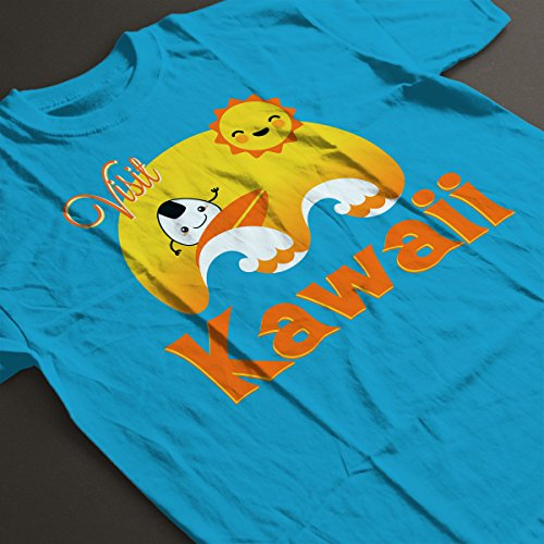 ... Visit Kawaii Japanese Cute Wave Women's T-Shirt Sapphire ...