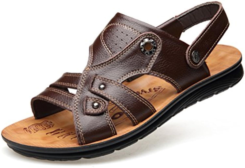 SHOWHOW Herren Frühlingsschuhe Sommer Freizeit Sandaletten