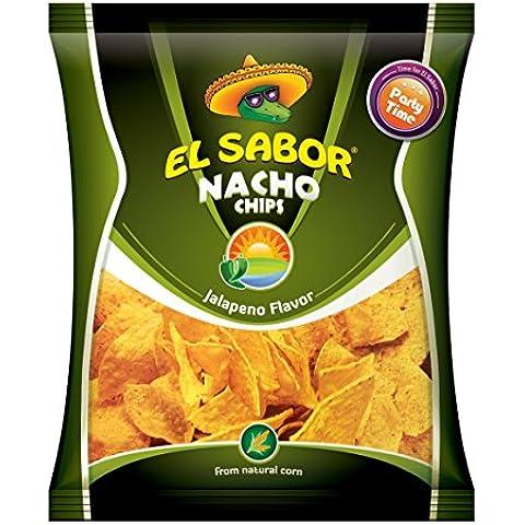 El Sabor Nachos Chips Jalapeno - 225