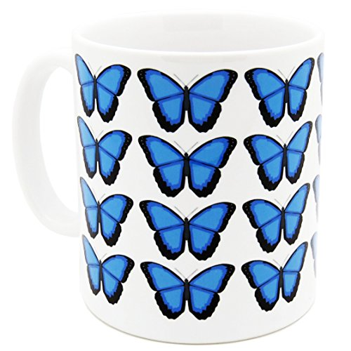Robert William Schmetterlinge Morpho Tasse (Schmetterling-keramik-tasse)