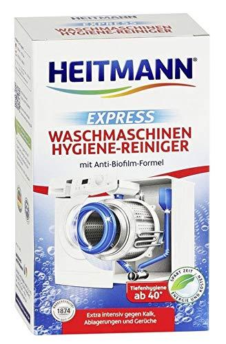 Heitmann Express Waschmaschinen Hygiene-Reiniger: entfernt Kalk, Ablagerungen und Gerüche, Maschinenreiniger, 250 g
