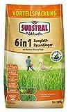 Substral Naturen 6in1 Komplett Rasendünger, mit Sofort und Langzeitwirkung zur ganzjährigen Rundum- Rasenpflege mit Extra Kalk und Kalium, 20 kg für 270 m²