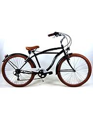 "'Bicicleta ""Adriatica Cruiser Cambio 6 V – Bastidor de acero – Rueda 26"""