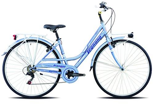 Legnano Ciclo 481 Versilia, City Bike Donna, Azzurro/Blu, 44