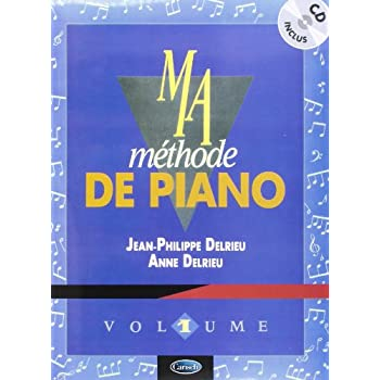 Delrieu : Ma Méthode de Piano vol 1 (+ 1 cd)