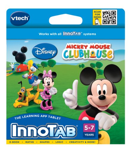 Disney 230403 Micky Maus VTech InnoTab Software Mickey Mouse Clubhouse, Multi -