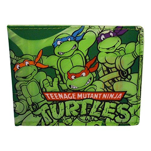 Price comparison product image Teenage Mutant Ninja Turtles Shell Semi Transparent Wallet (Green)