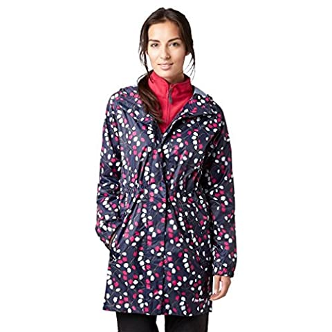 Peter Storm Women's Parka in a Pack, Navy, 12