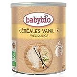 Papilla de Cereales y Vainilla babybio, 220 g