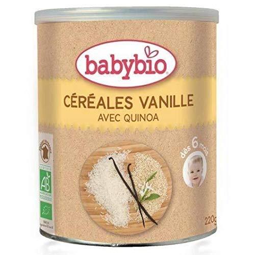 Papilla de Cereales y Vainilla babybio