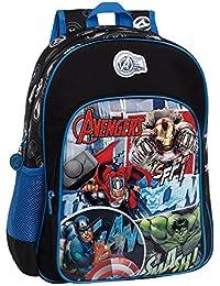 Marvel 24323A1 Avengers Street Mochila Escolar, 15.6 Litros, Color Azul