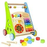 Lauflernwagen für Babys aus Holz von boppi® - Musik