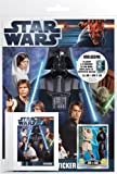 Universal Trends Star Wars to90442 – Movie Sticker Starter Pack