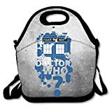 Best Doctor Who Lunch Boxes - Bakeiy Doctor Who Police Box Lunch Tote Bag Review