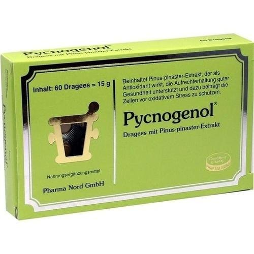 PYCNOGENOL KIEFERNRINDENEX 60St Dragees PZN:4240505
