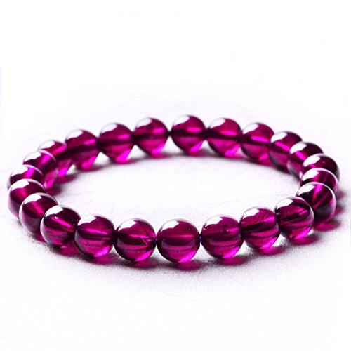 Bracelet grenat/Dent de Wu Meihong Crystal bijoux violet/ string/ cadeau pour bijoux petite amie B