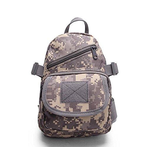 ruifu Tactical Military Sling Brust Pack Bag Schulter Cross Body Messenger Sporttasche für travailing Trekking Jagd Camping ACU