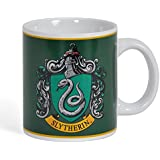 Lasgo Harry Potter Taza Slytherin Crest, cerámica, multicolor, 12 x 10.8 x 9.2 cm