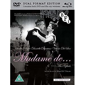 Madame De... (2 Blu-Ray) [Edizione: Regno Unito]