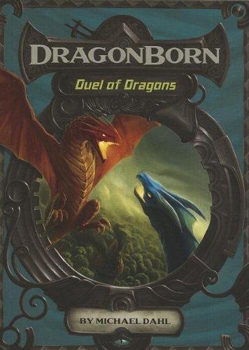 Portada del libro Duel of Dragons (Dragonborn) by Michael Dahl (2012-08-01)