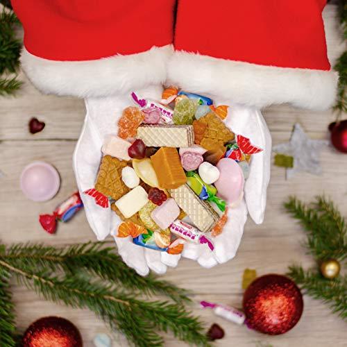 Der vegane Adventskalender, mit 24 veganen Süßigkeiten von Fruchtgummi, Brause, Karamell, Bonbons bis Keks - Adventskalender vegan 2018 - 6