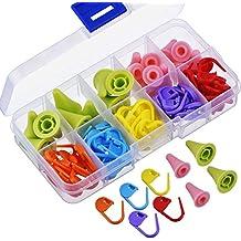 YJZ 100 piezas de puntadas de ganchillo para tejer, marcadores de punto de ganchillo,