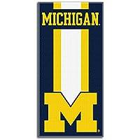 Northwest Michigan Wolverines Zone Read NCAA Serviette de plage
