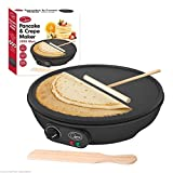 12' Non Stick Electric Pancake Crepe Omelette Maker Frying Pan Machine