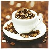 Eurographics DG-SDL1035-VP Decoglass, Cup of Beans 30 x 30 cm