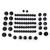 httmt- 77pezzi nero kit di tappi di copertura per 04–15Harley Sportster Engine & Misc bullone dado