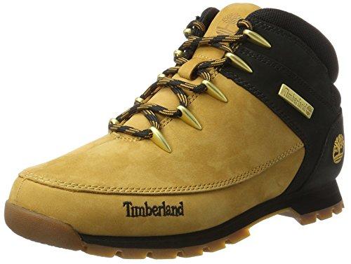 Timberland Euro Sprint Hiker, Stivali Chukka Uomo, Giallo (Wheat Nubuck w/Black), 43 EU