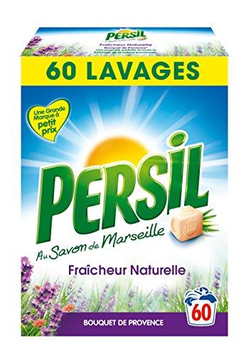 Persil lessive poudre fraîcheur naturelle provence 60 doses