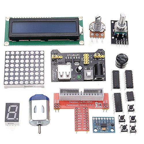 ROUHO Super Starter Kit V2.0 per Raspberry Pi 3. 2. Zero & Modello B/W/ 40