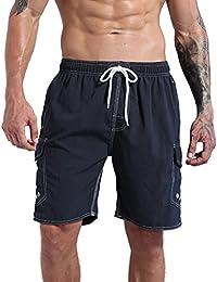 ORANSSI Swim Trunks Beach Surf Shorts - Bañador - para hombre