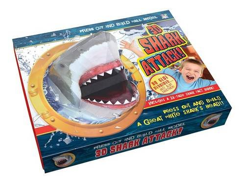 3D Shark Attack! (Press Out & Build Wall Model)