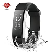 NOVETE Fitness Tracker, Pedometer Sports Activity Tracker Bracelet£¬IP67 Waterproof Wireless Smart Wristband Smart Watch witch Heart Rate Monitor/sleep monitor for Android and IOS
