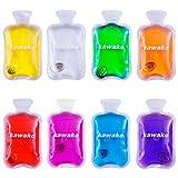 Taschenwärmer 8er Set Multicolor - Wärmflasche Handwärmer Heizpad Firebag