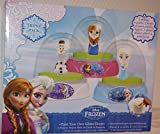 Disney Frozen Childrens Paint Your Own Glitter Snow Dome Set Anna Elsa Olaf