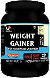 Musclemass Weight Gainer High Protein Supplement Powder (Vanilla, 1 Kg / 2.2 Lb)