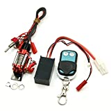 1:10 RC Model Stahl Seilwinde Automatic Wired Winde Control System mit Wireless Remote Receiver