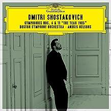 Shostakovich Symphonies Nos. 4 & 11, The Year 1905