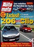 ACTION AUTO MOTO [No 48] du 01/08/1998 - EXCLUSIF - 1er ESSAI - 1er COMPARATIF 206 - CLIO LES VEDETTES DU MONDIAL DE L' AUTO AUDI TT CITROEN XANAE BREAK MEGANE DOSSIER PERFORMANCES ACCELERATIONS - REPRISE - FREINAGE TOUTES LES FAMILIALES FACE AU CHRONO