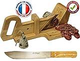 Le Berger, Guillotine, Trancheuse à Saucisson La montagnarde, Couteau à pain Offert