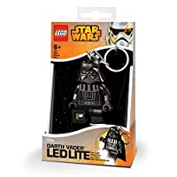 Lego - Llavero con luz de Darth Vader de Recreation
