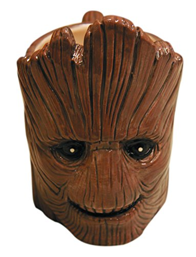 Marvel Guardians Of The Galaxy Smiling Groot Molded Mug