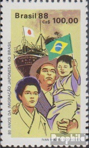 Prophila Collection Brasilien 2257 (kompl.Ausg.) 1988 Japanische Einwanderung (Briefmarken für Sammler)