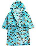 Vaenait baby Mikrofaser Jungen Boy Bademantel Robe Mint Car L (Robe)