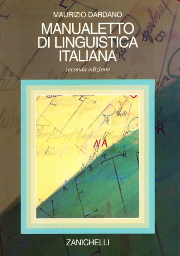 Manualetto di linguistica italiana